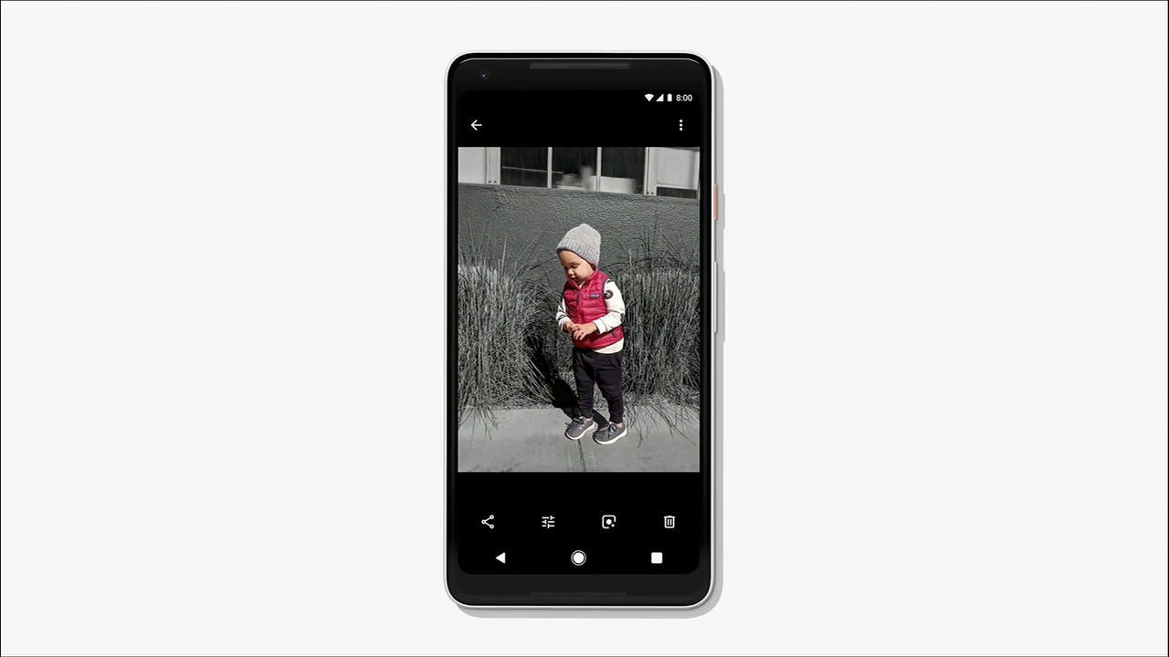 google photos color pop images are rolling out