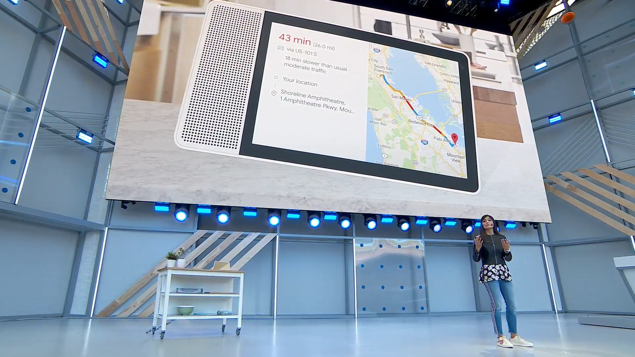 google assistant smart displays from jbl lenovo and lg coming in july