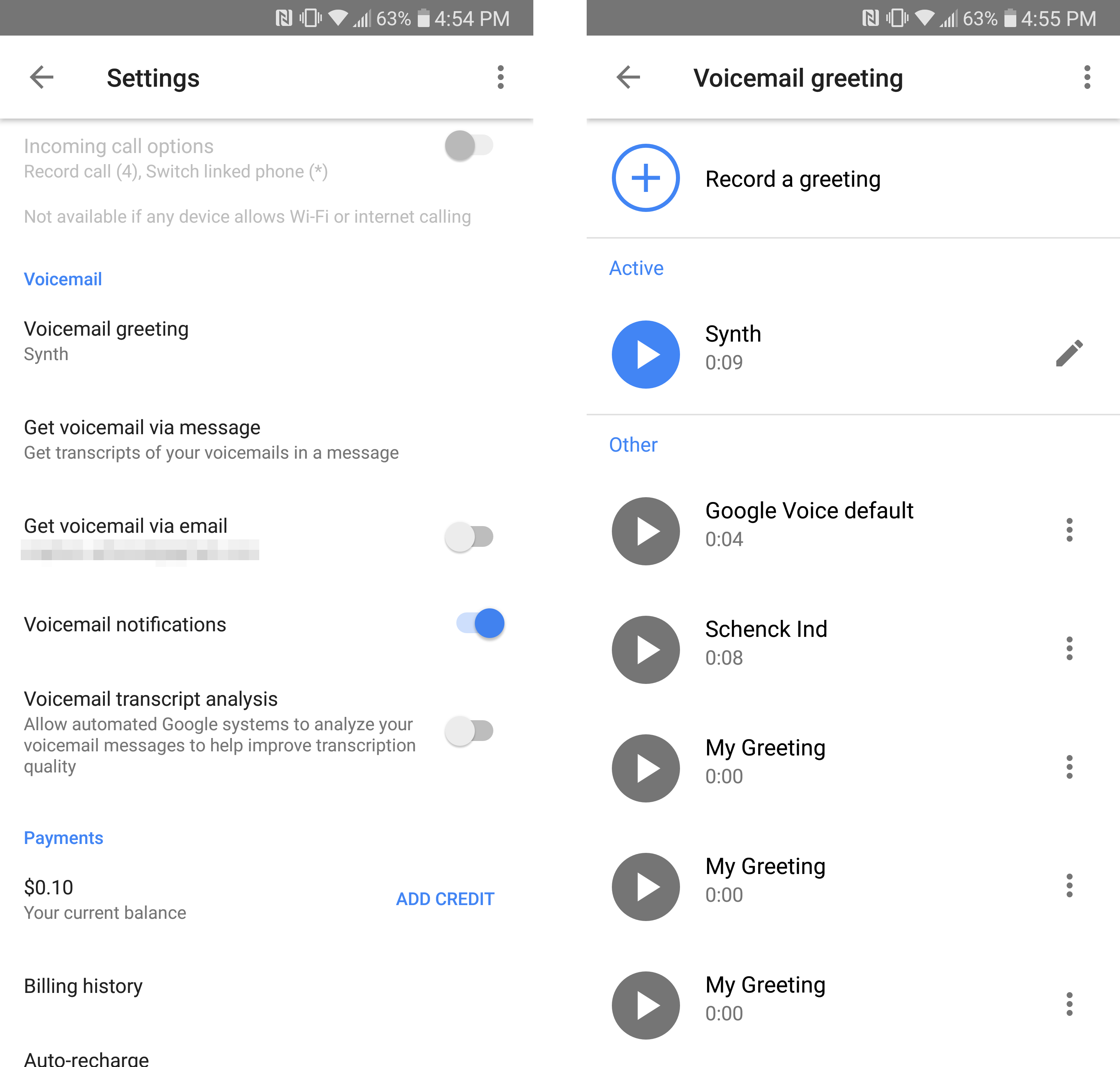 Google voice v510 adds voicemail greeting management google spent years ignoring google voice but it finally revamped the app and website in 2017 it also promised to keep the updates coming and its been m4hsunfo