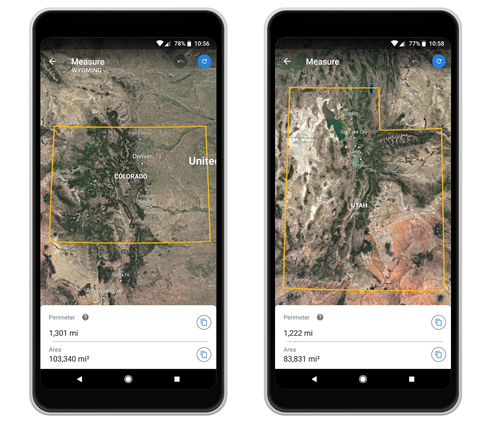 Measurement tools coming to Google Earth on Chrome and Android on windows mobile, google mobile car, spotify mobile, chrome mobile, gmail mobile,