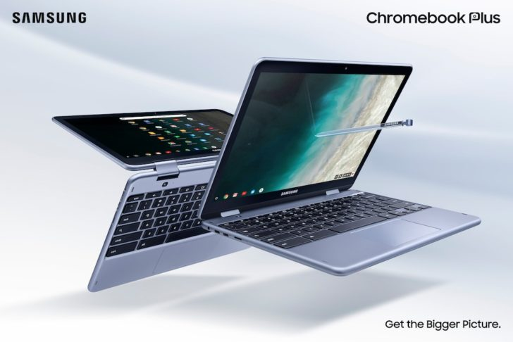 Intel processor and rear-facing camera for second-generation Samsung Chromebook Plus