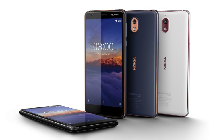 The $159 Nokia 3.1 Is Headed to the United States on July 2