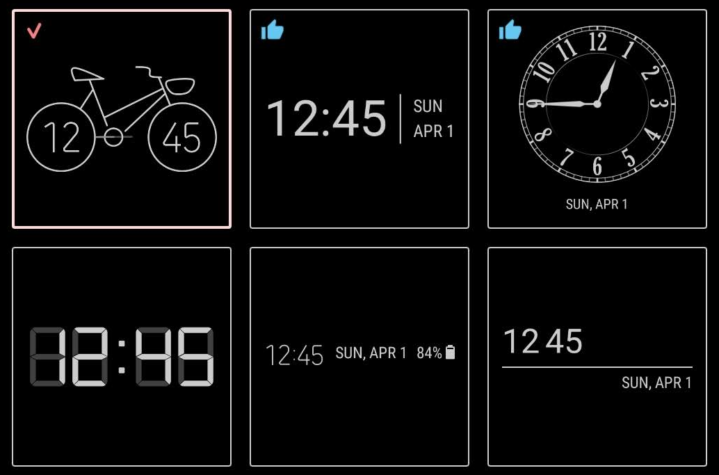 Samsung's new ClockFace app brings more clock styles to your Always