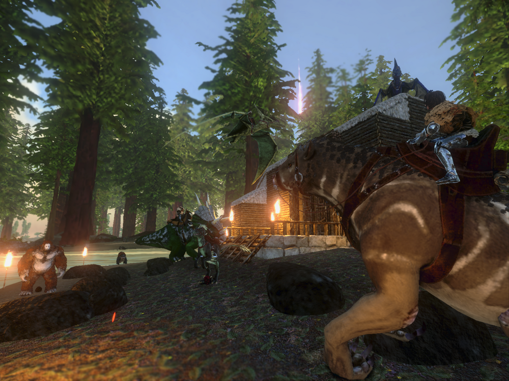 ARK: Survival Evolved is here, so get ready to start taming your