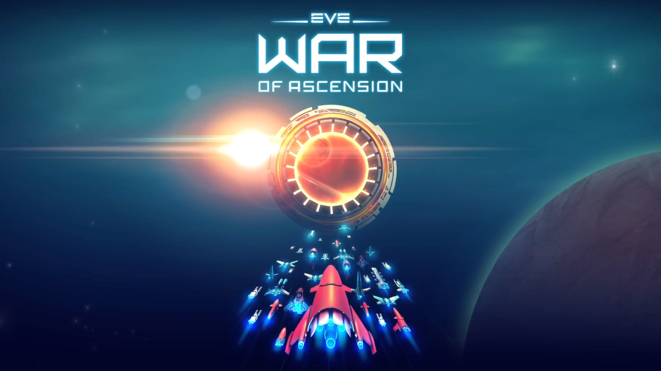 EVE: War of Ascension is on the Play Store, but you probably can't