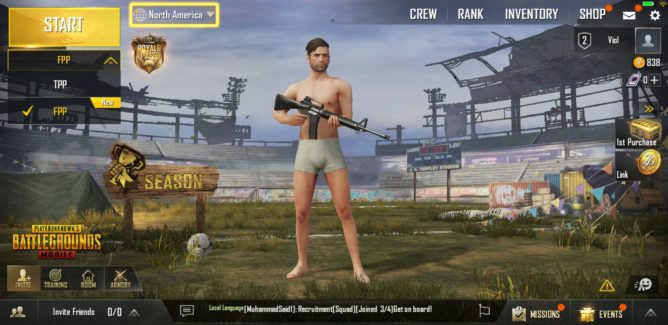 Pubg Mobile Update First Person Emotes Armory And More: PUBG Mobile 0.6.0 Update Adds Royale Pass Season 1 And A