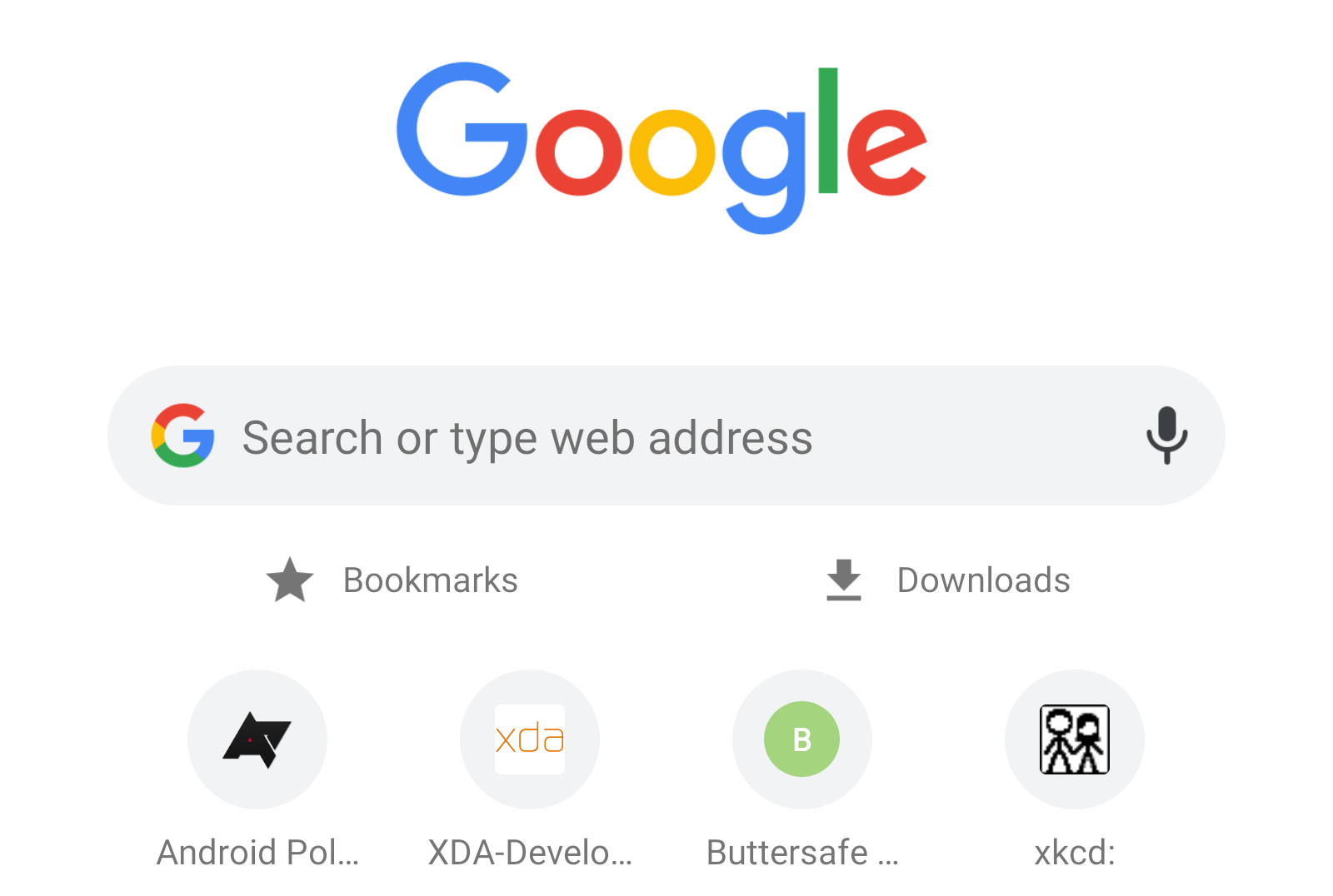Tip: Get a shortcut to Bookmarks and Downloads on every new Chrome