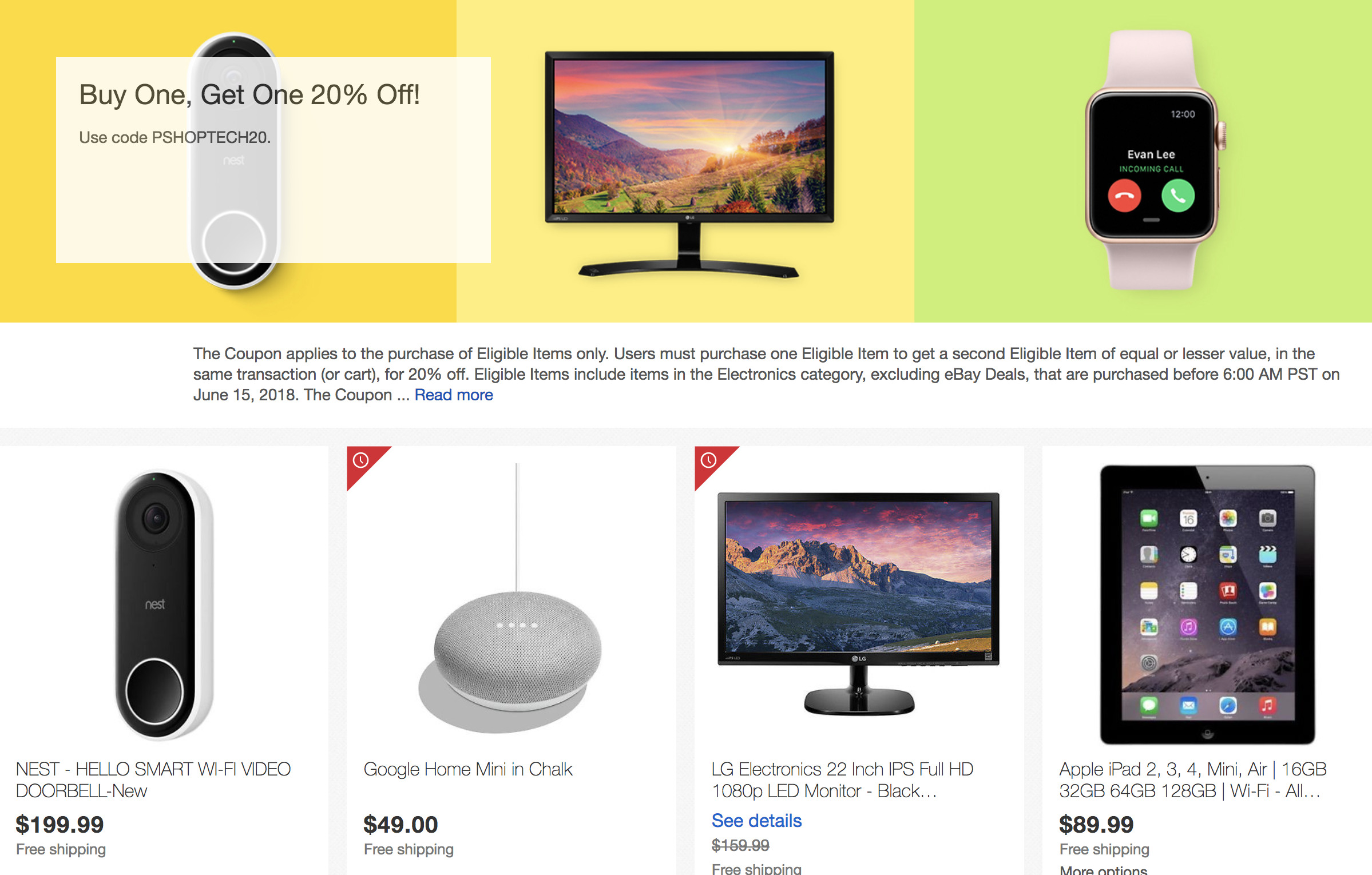Deal Alert Buy One Get One 20 Off On A Bunch Of Tech Products On