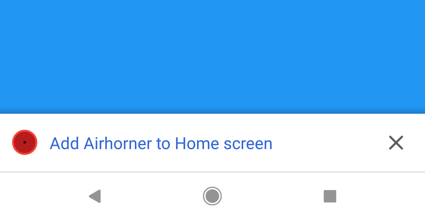 6975d477e Since the version 42 beta, Chrome for Android has included a pop-up banner  allowing you to add a website shortcut (or Progressive Web App) to the home  ...