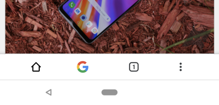 Chrome Duplex UI updated with bottom bar that mirrors top