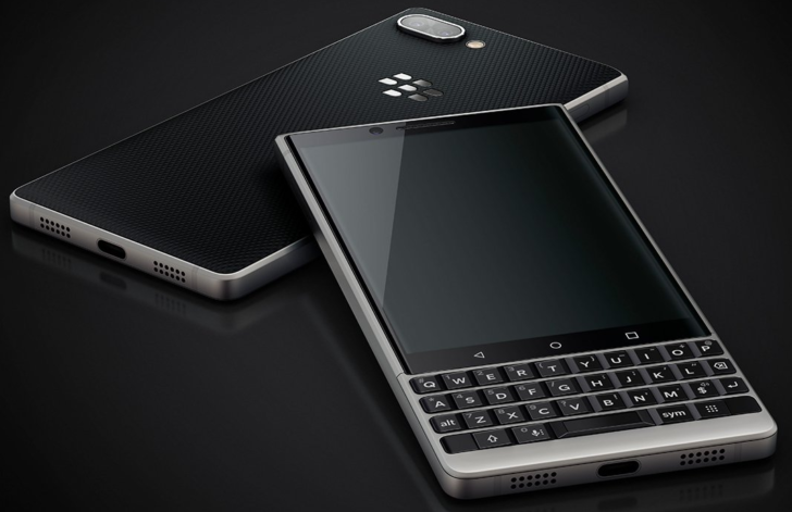 This is the Blackberry Key2 with dual rear cameras & QWERTY Keyboard