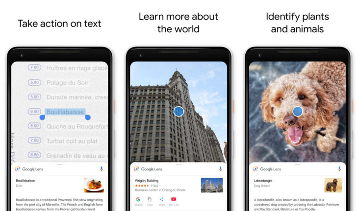 Download Google Lens app via Google Play Store