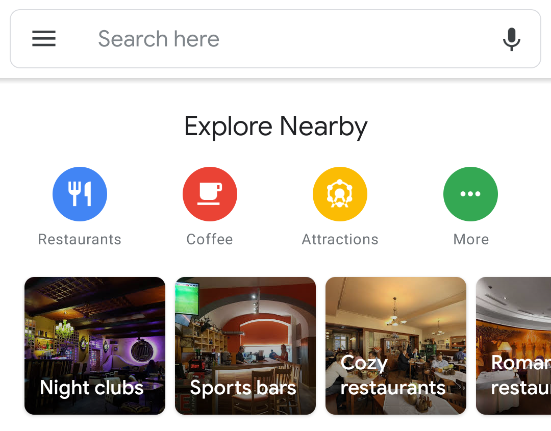 Image result for Google Maps has switched to a new Material Theme design on Android, but not for everyone yet