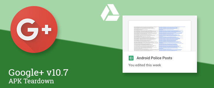 Google+ v10.7 prepares to add dedicated post titles and Drive attachments with automatic previews [APK Teardown]