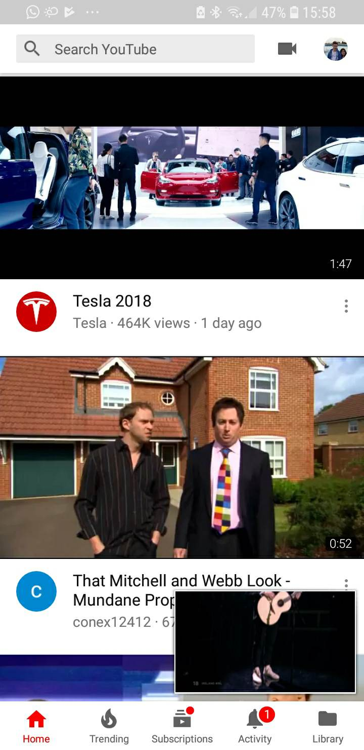 Update: Wider thumbnails rolling out] YouTube is testing a