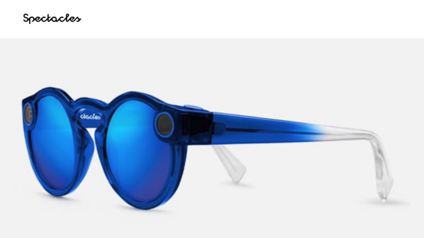 f66edc01bac Snapchat s second-generation Spectacles will be available on Amazon ...