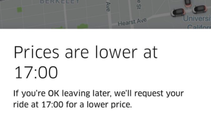 Google Maps just evicted Uber bookings