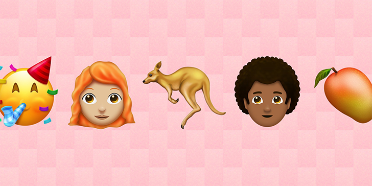 Ginger hair finally included as 157 new emojis launched