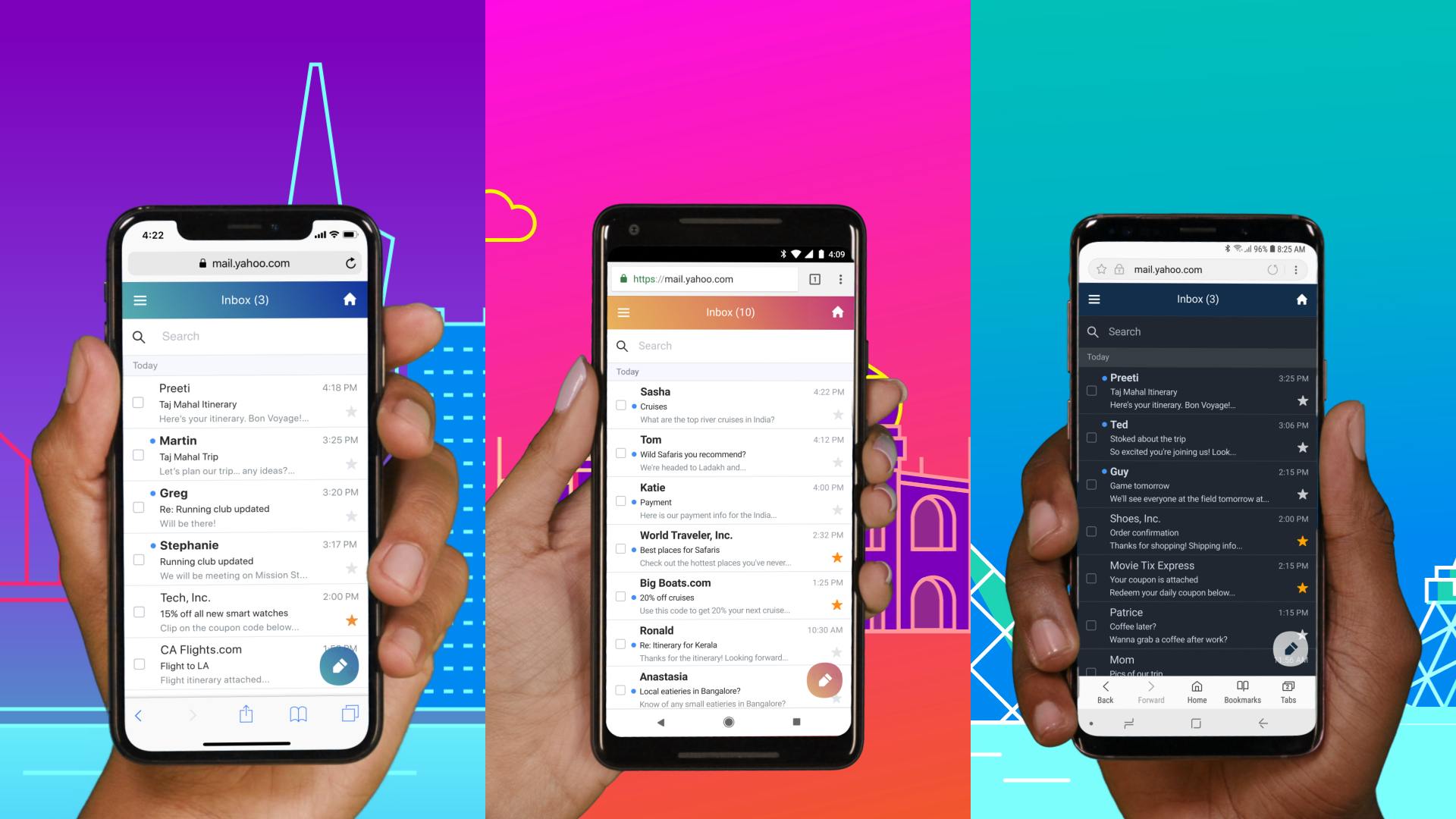 Update: APK download] Yahoo introduces new Mail app for Android Go