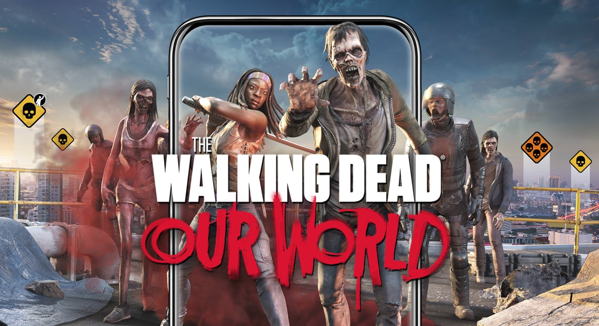 The Walking Dead Our World Shambles Its Way Onto The Play Store