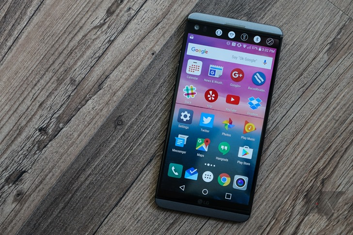 Sprint LG V20 now receiving Android 8 0 Oreo update