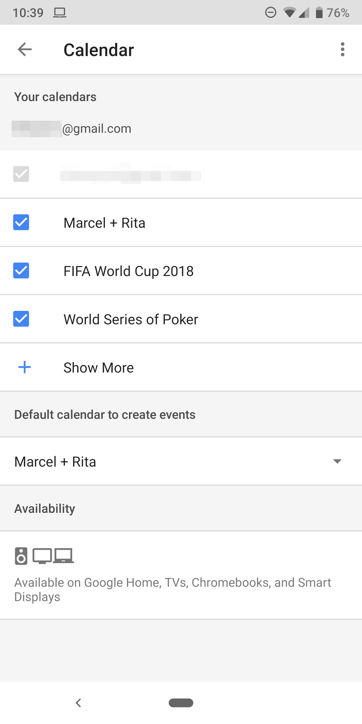 how to connect google home to your google calendar