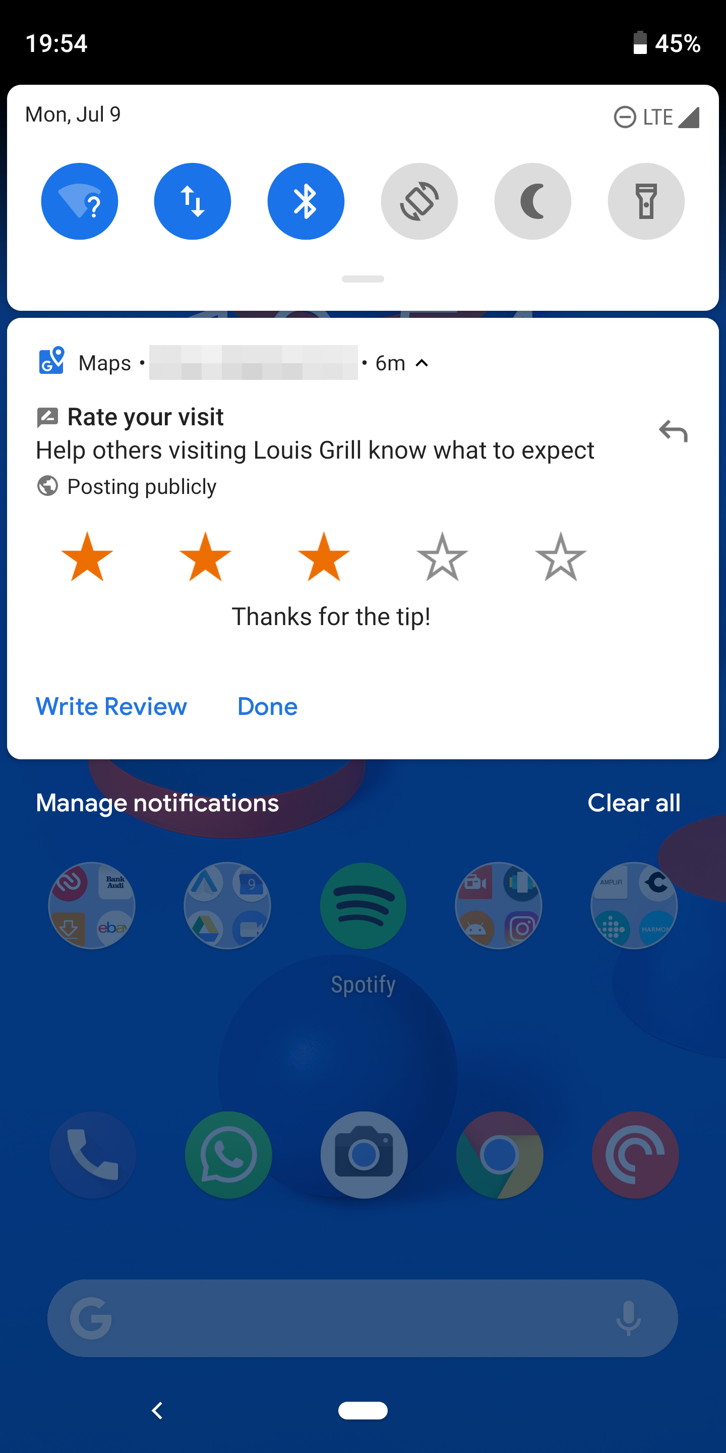 Google Maps now lets you quickly, and mindlessly, rate