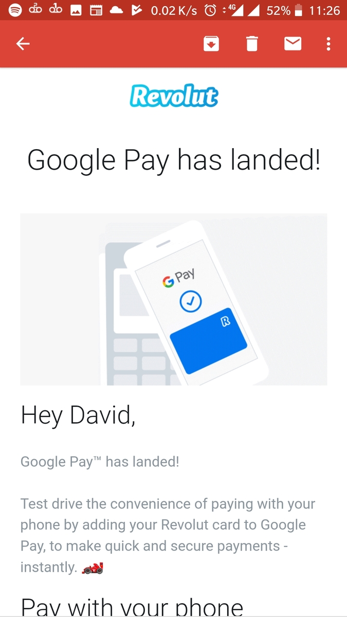 google pay support
