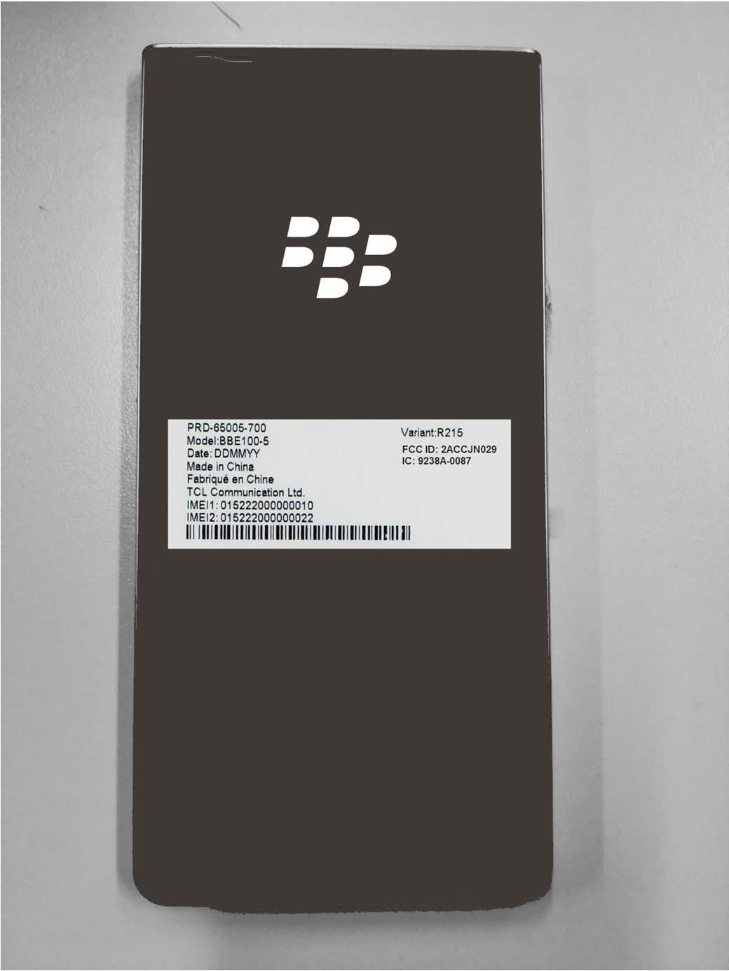 FCC docs confirm BlackBerry KEY2 LE name for rumored sibling