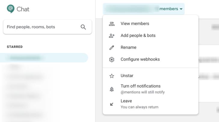Hangouts Chat desktop interface gets Material Design refresh