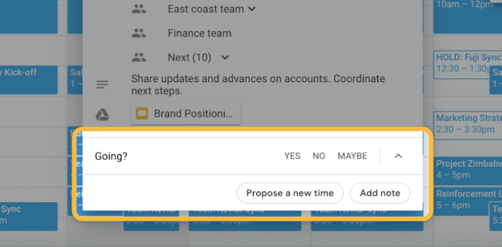 Google Calendar adds 'Propose a new time' option to meetings
