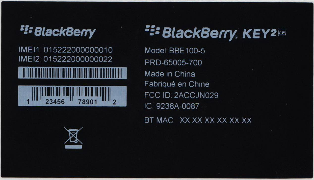 FCC docs confirm BlackBerry KEY2 LE name for rumored sibling phone