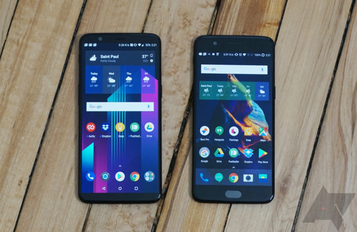 OnePlus : 5 and 5T now have Treble in a stable manner