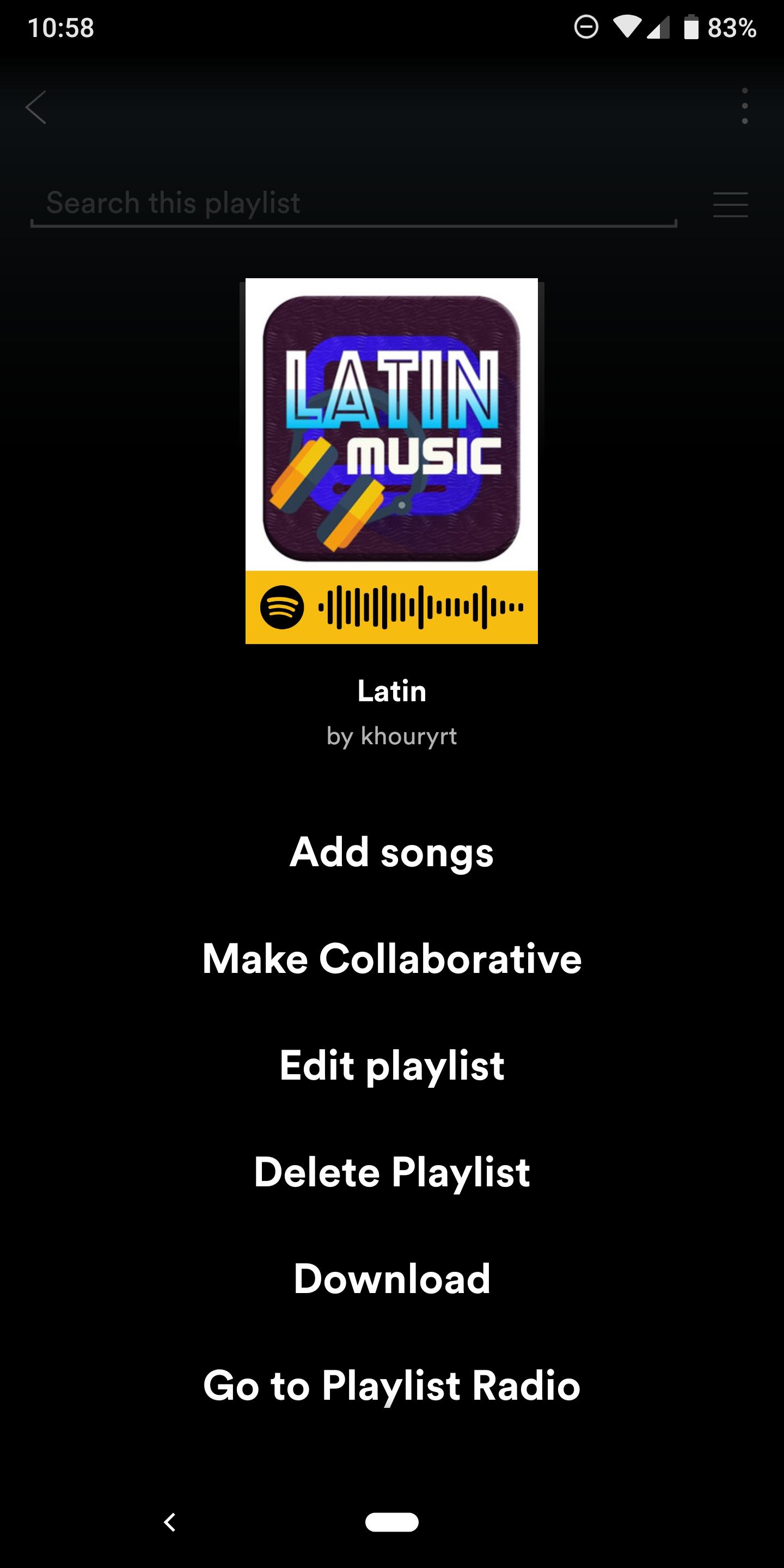 How To Change Spotify Playlist Picture >> Re Ordering Tracks In Your Spotify Playlists Is Now Possible On Android
