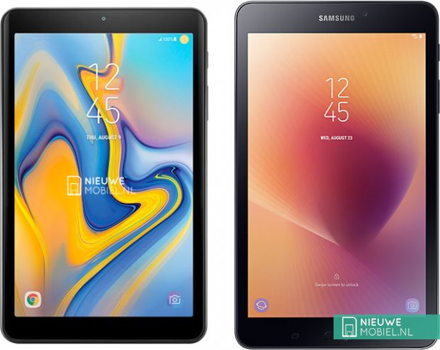 Samsung Galaxy Tab A 8 0 2018 Leaks With No Physical Home Button And Curved Glass On Sides