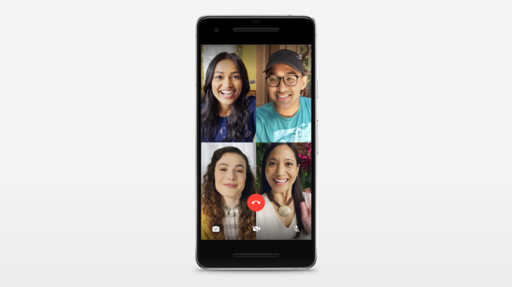 WhatsApp brings group video calling to Android and iOS