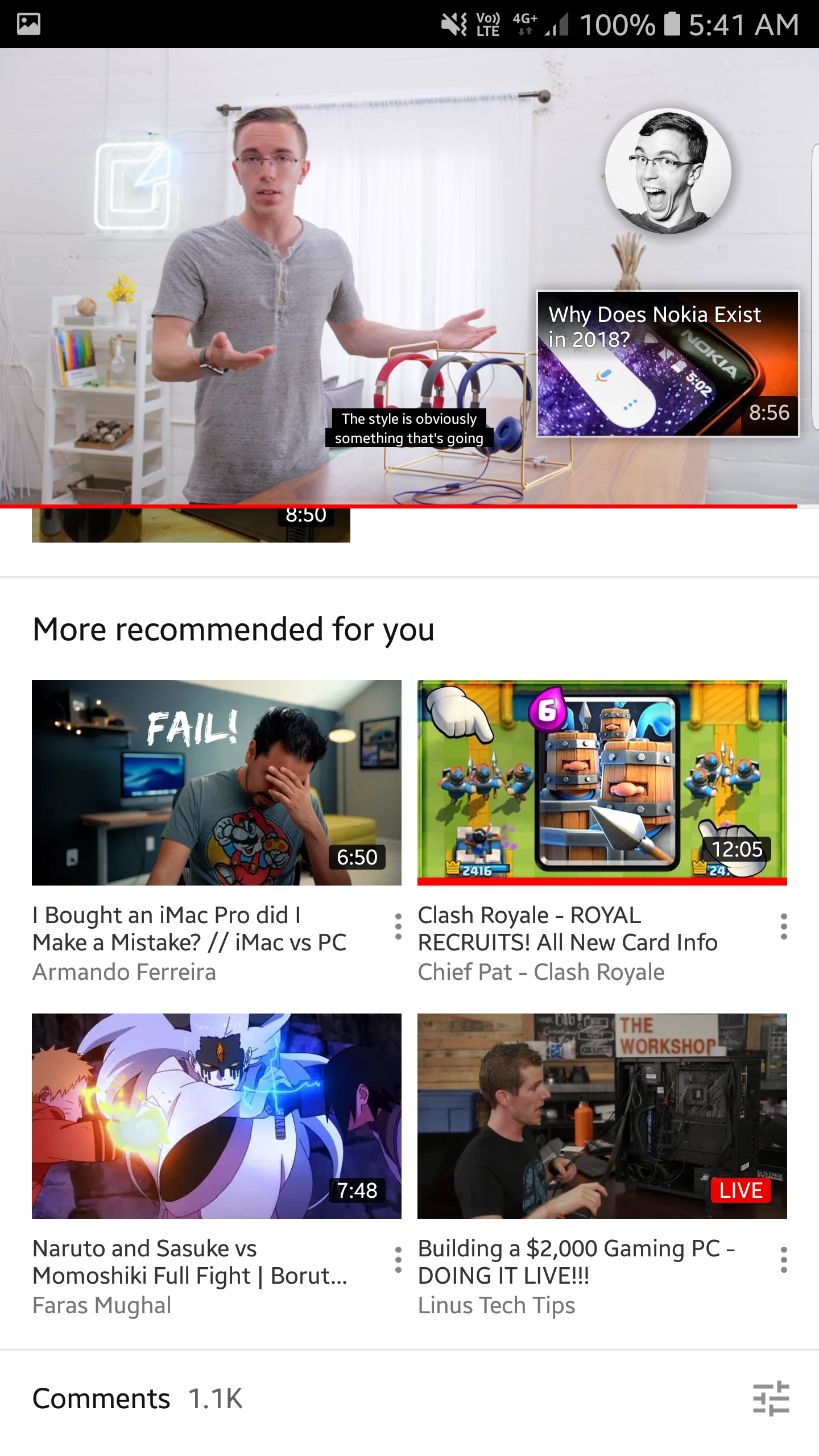 how to get recommended videos back on youtube
