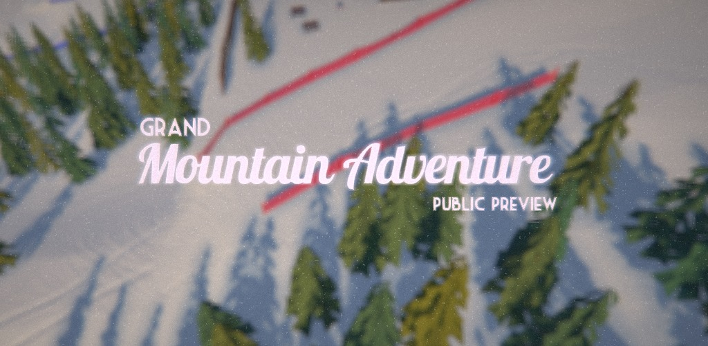Grand Mountain Adventure is one of the best skiing games on Android