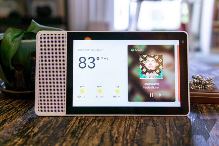 Google's smart speaker with display due this year
