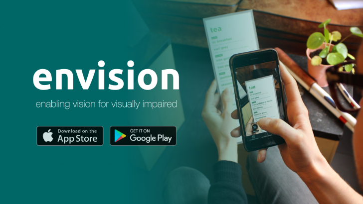 Envision AI helps visually impaired people better see and read the world