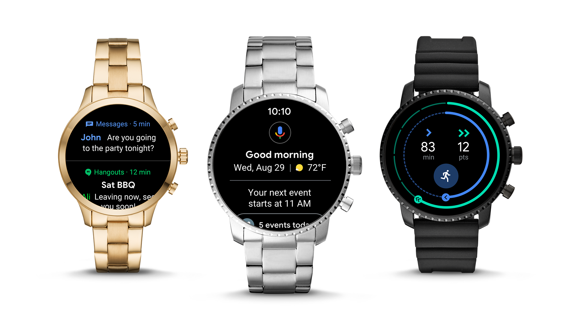 Wear OS 2.1 is rolling out to your smartwatch starting today