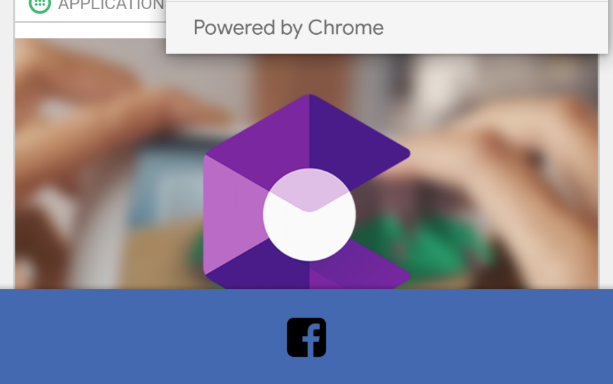 Facebook app transitioning to Chrome Custom Tabs from