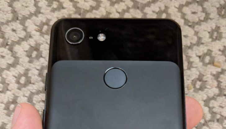 This is the regular, no-notch Google Pixel 3, as leaked