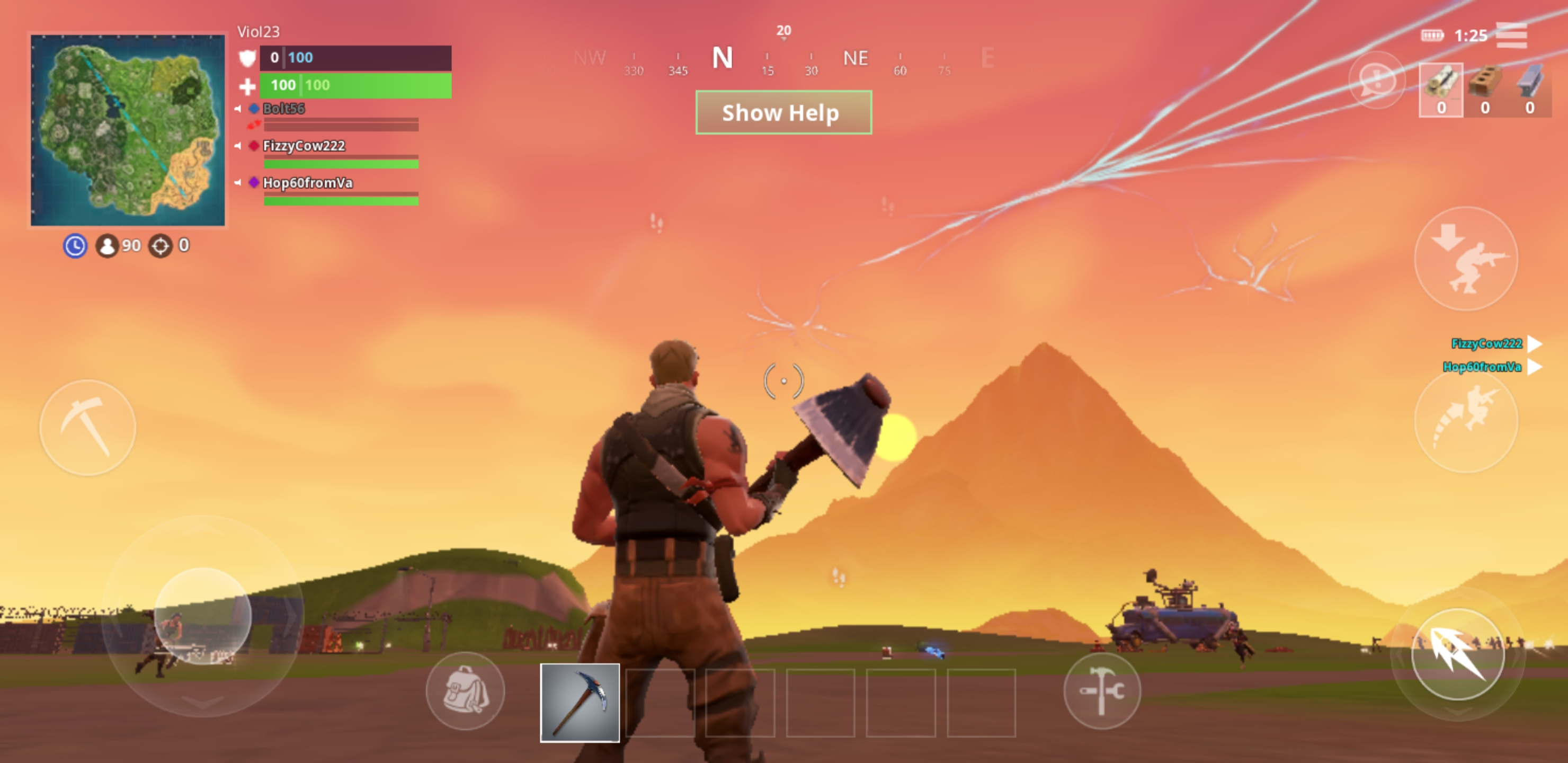 Hands-on] Fortnite for Android, the most frustrating version to play yet