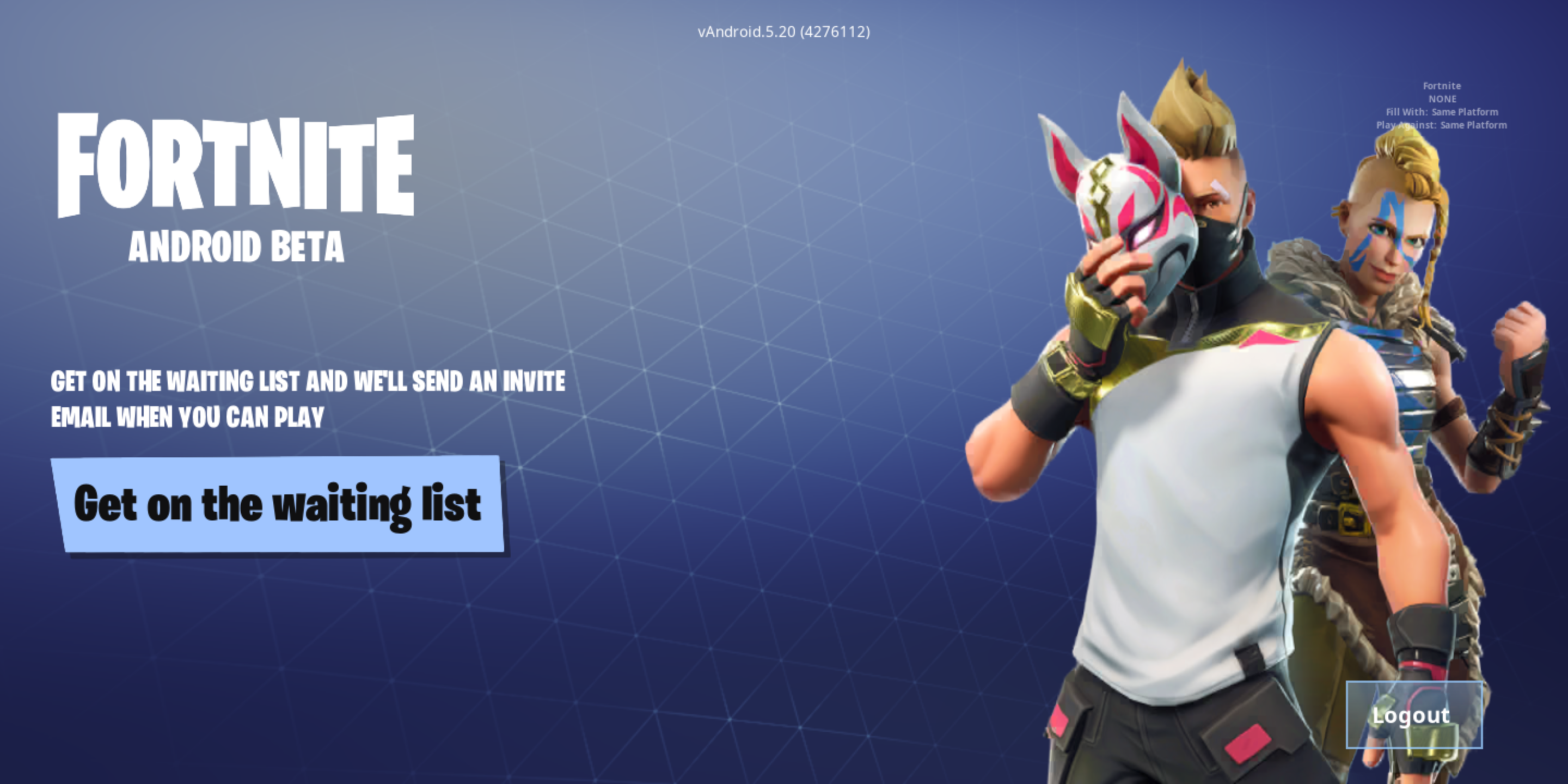 Fortnite for Android now works on non-Samsung devices, but