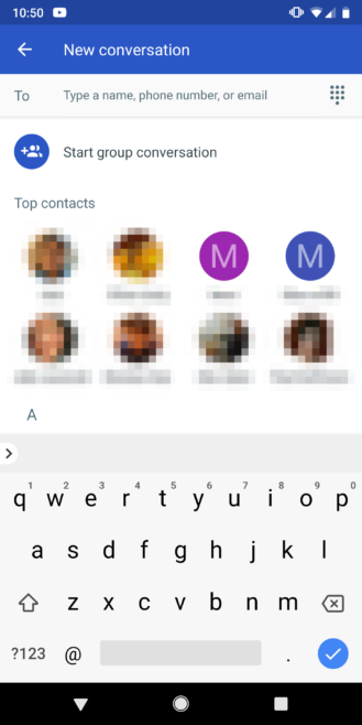 Android Messages v3 5 adds new Material UI with dark mode