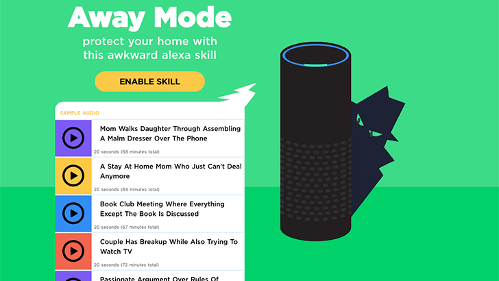New Alexa skill penned by SNL writers could help deter burglars