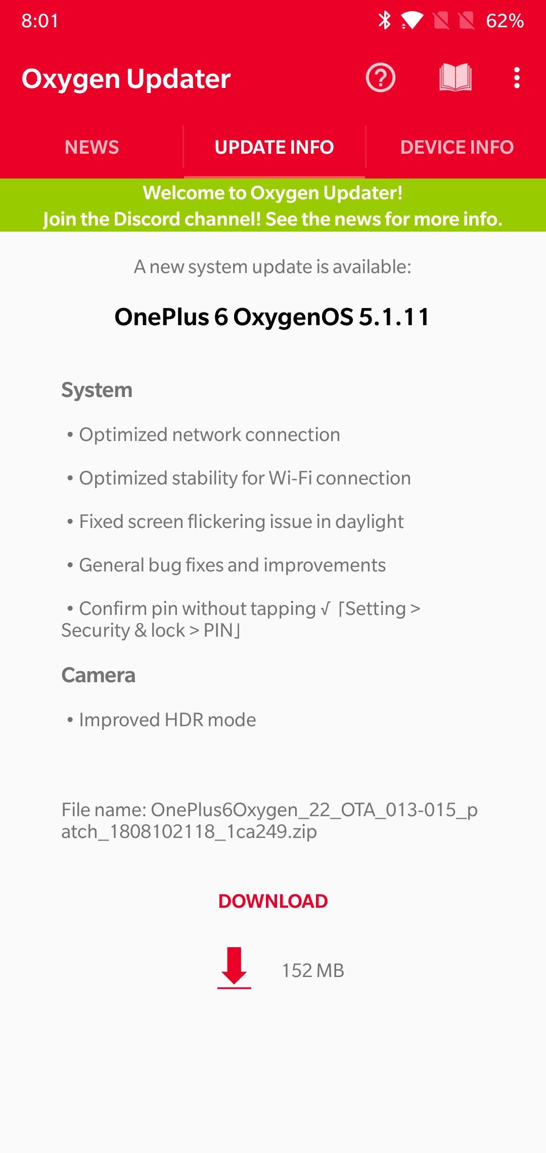 OxygenOS 5 1 11 addresses OnePlus 6 screen flickering issue