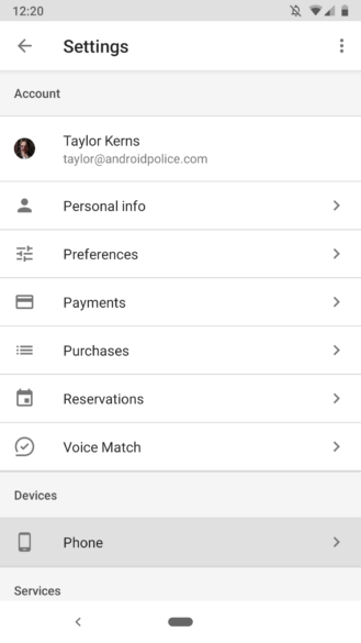 how to turn off voice command on android phone