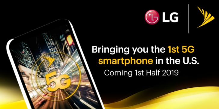 Sprint partners with LG to launch 5G smartphone in 2019